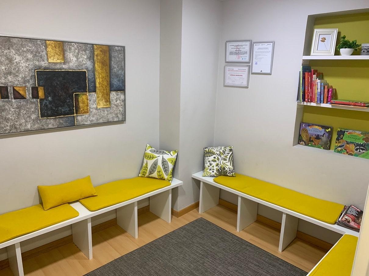 Instalaciones - Sala de ocio para niños en áreas Psicología en Cangas do Morrazo