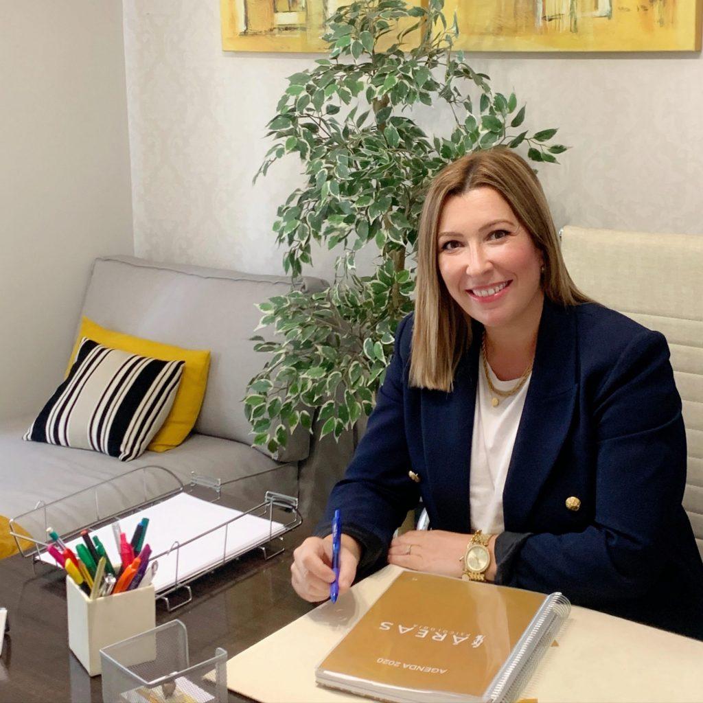 Ruth Pérez Coya Directora Áreas Psicología en Cangas do Morrazo
